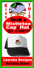mistletoe caps, instant mistle toe